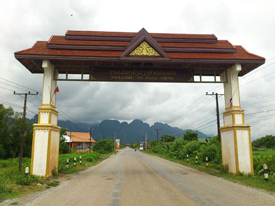 Photo of the Destination: Vang Vieng