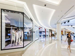 Upscale Shopping Complexes