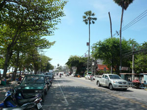 Hotels located on the Jomtien Beach Road