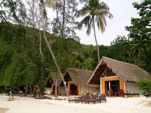 コテージ/ヴィラ/バンガロータイプの部屋があるホテル
