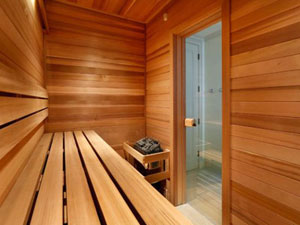 Room with Private Sauna