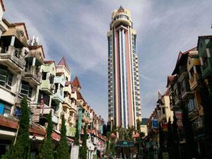 15階以上の高層ホテル