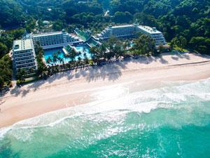 โรงแรมที่มีชายหาดส่วนตัว