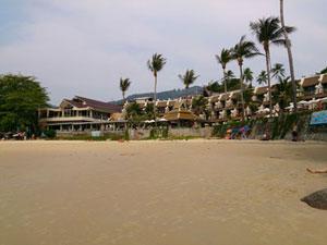 โรงแรมติดชายทะเล