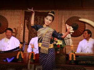 Dinner With Lao Classical Dance
